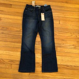 NWT Levi's 515 Bootcut Mid Rise Jeans Size 4